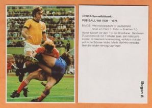 Poland v Brazil 1974 World Cup (Black) (29) (B)